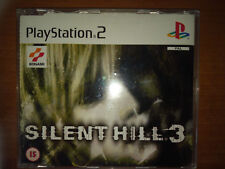 SILENT HILL 3 PROMO PS2 PLAYSTATION PROMOTIONAL DISC RARE