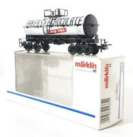 MARKLIN 4864 HO GAUGE 3 RAIL -  AMERICAN, BAKER'S CHOCOLATE BOGIE TANK CAR