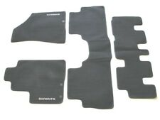 11 12 13 KIA SORENTO BLACK CARPET FLOOR MATS RUGS LINERS OEM GENUINE USED SET #7