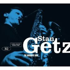STAN GETZ - THE IMMORTAL SOUL-ESSENTIAL COLLECTION  2 CD  MODERN COOL JAZZ  NEW!