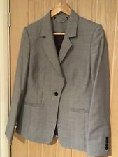 Austin Reed Wool Checked Skirt Suit
