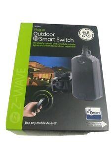 GE Plug-In Outdoor EZ Smart Switch Wireless Z-Wave Range 120 VAC, 60 Hz 12720