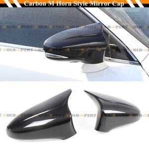 FOR 2013-19 LEXUS GS GSF ES RC RCF LS M STYLE CARBON FIBER SIDE MIRROR COVER CAP