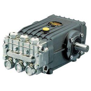 Interpump WS202 High Pressure Pump Male Solid Shaft 200 Bar 3000PSI 21 LPM Honda