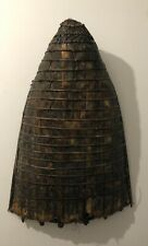 Chapeau de pêche ou de rizière objet ethnique non identifié ? H 90 cm  par 63 cm
