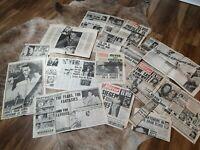 Elvis Presley Vintage News Clippings