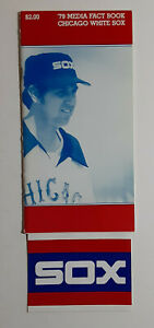 Chicago White Sox 1979 Media Guide + SOX sticker