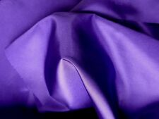Purple Polyester Taffeta Dress Fabric Lining Crafts Sewing by the Metre
