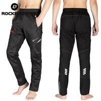 RockBros MTB Men's Thermal Fleece Winter Cycling Sportswear Reflective Trousers
