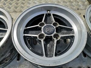 Ford Escort RS2000 Mk2 Genuine Original Alloy Wheels Set Of 4 OE With RS Centres