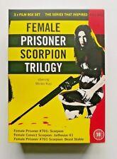 Female Prisoner Scorpion Trilogy-  DVD Boxset SOLD OUT - NOITA