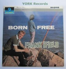 FRANK IFIELD - Born Free - Excellent Condition LP Record Columbia 33SX 1534