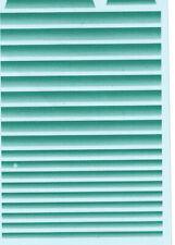 Aufkleber Nassschiebebilder- -Grünkeil-Blendstreifen Decal (140x90 mm)450  1:50