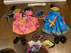 Lot Of 3 Muffy VanderBear Bal Masque Collection Outfits - Hoppy Oatsie