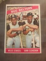 1966 Topps Buc Belters #99 (Willie Stargell-Don Clendenon) NM-MINT