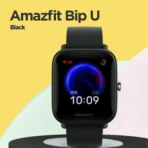 Amazfit Bip U Smartwatch 5ATM Display a colori resistente all'acqua GLONASS