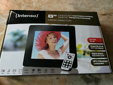 "INTENSO Digitaler Fotorahmen 8"",NEU+OVP,extra Slim,Mp3 Videoplayer,20.32 cm"
