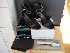 NEU Tanzschuhe Damen Latein Barbara UK 4 Größe 37 International Dance Shoes