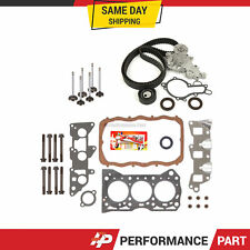 Head Gasket Set Valves Timing Belt Kit Fit 85-88 Chevrolet Sprint Turbo 1.0L G10