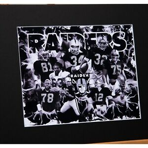Oakland Raiders - The Legends - Silver and Black - Team of the Decades