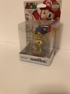 Super Mario Gold Edition Amiibo USA version 1st run Walmart Exclusive