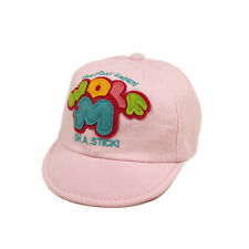 Infant Toddler Unisex Baby's Cotton Wolf M Canvas Baseball Cap-Diff Colors Avail