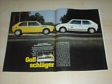 Sport Auto 1739) VW Golf I LS Oettinger mit 85PS besser als...?