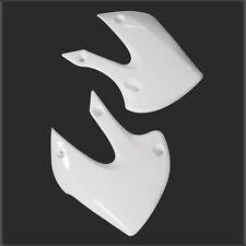 White Plastic Tank Shrouds Body Plate Fender f/ KAWASAKI KLX110 Dirt Bike Pit
