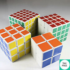 Rubiks Cube Speed Magic Twist Pack Set 2x2 3x3 4x4 5x5 Puzzle Game Intelligent