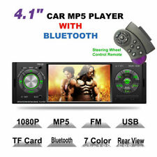 1Din Car Stereo Radio Bluetooth Audio In-Dash FM Aux Headfree SD USB MP3 Player