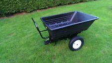 Dump Truck Garden Trailer - 295KG Load - Push Barrow - Wheelbarrow - Tow Cart