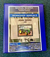 John Deere 3050,3350,3650 Service Repair,Workshop Manual,Fully Printed,Free Post
