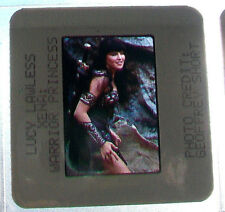 35mm color slide action side XENA WARRIOR PRINCESS Lucy Lawless Renee O'Connor