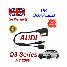 AUDI Q3 Series Cable para Htc One M8 E8 DESIRE Mini Micro USB & Aux 3.5mm Cable