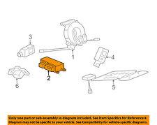 GM OEM Airbag Air Bag-RCM SDM ACM Restraint Control Module 13510481