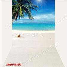 Seaside 10'x20'Computer/Digital Vinyl Scenic Photo Backdrop Background SW091B88