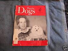 Vintage Popular Dog's Magazine December 1966