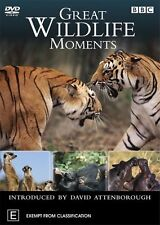 Great Wildlife Moments With David Attenborough : NEW DVD