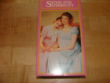Sense & Sensibility Jane Austen BBC 1987 VHS 2 set