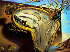 8 x 6 Art Dali Melting Watch Ceramic Mural Backsplash Bath Tile #32