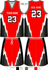 Men Women Basketball Jerseys Sets Throwback Team Uniforms Custom Sublimated 162
