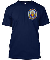 Uss New Jersey Bb-62 Commemorative Tee! - Fire Power Hanes Tagless Tee T-Shirt