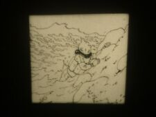 Tintin l'Etoile Mystérieuse Films fixes 35mm en noir et blanc par Hergé