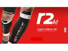 Perneras de compresión COMPRESSPORT R2 V2 -talla 2 - medias negras