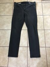 Gap Resolution Slim Straight Black Jeans Size 18