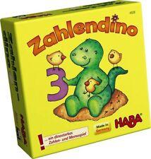 HABA Zahlendino Lernspiel Zahlen Mengen Gedächtnis Spiel ab 3 Jahre