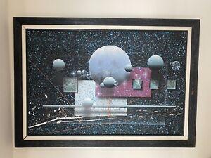 J Kugler Painting Original 41x29 Framed