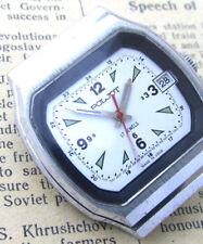POLJOT 2614.2H TANK Vintage 1970s Soviet Russian Mens Mechanical Wrist Watch