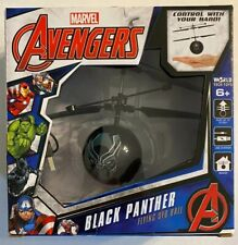 Marvel Avengers Black Panther Flying UFO Ball Helicopter NEW