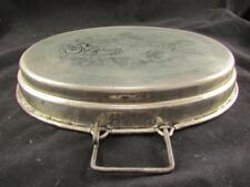 F.F. & S. Tinned Steel Fish Baking Dish J.B.12602 Francis England Circa 1951 EUC